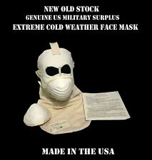 US MILITARY SURPLUS USMC ARMY ARCTIC EXTREME COLD WEATHER FACE SKI MASK FILTERS