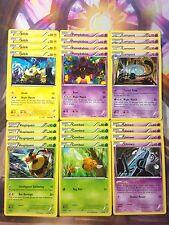 Pokemon TCG Night March 24 Card Deck Core Joltik Pumpkaboo Lampent Vespiquen NM