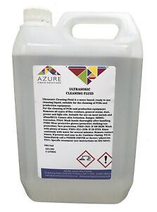 Ultrasonic Cleaning Fluid Bath PCBs Production Equipment Carburettor Metals - 5L