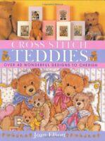 Cross Stitch Teddies by Elliott, Joan Hardback Book The Fast Free Shipping