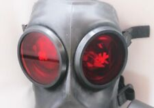 More details for fm12 gas mask outserts genuine sas red rubber lenses (gas mask not included)