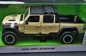 2020 Jeep Gladiator Rubicon ~ Tan ~ 1:24 Die Cast ~ Just Trucks