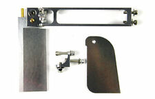 NEW CNC Rudder And Turn Fin Set For Mono1 Rc Boat  SILVER