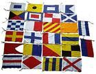 Maritime Signal Flags/Flag Set - Set of 26 Flag Code - Total 28 Flags –