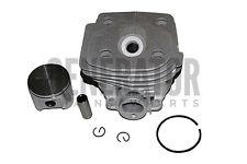 Chainsaw Cylinder Kit Piston w Rings 47mm For Husqvarna 359G 359 359G E Tech