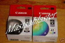 GENUINE CANON PG-40 & CL-41 BOXED INK SET