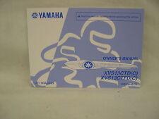 YAMAHA XVS13CTD, CTFD FACTORY OWNERS MANUAL NEW OEM # LIT-11626-26-23