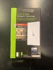 Ge Enbrighten In-Wall Z-Wave Plus Smart Dimmer #Zw3011. 112