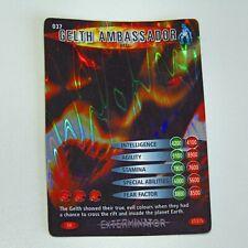 Doctor Who Battles in Time  Super Rare Foil  Gelth Ambassador Red 37/275