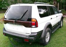 2001 Mitsubishi Montero Sport XLS passenger REAR door bodyside molding MR492589