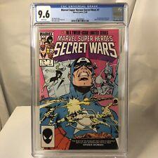 Marvel Super-Heroes Secret Wars #7 CGC 9.6 WP 1st app NEW SPIDER-WOMAN ! Julia
