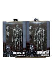 Neca The Terminator Endoskeleton Lot Of 2 New