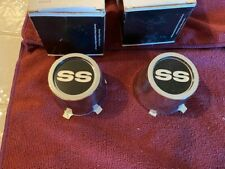 1968-70  Chevrolet Camaro, Nova SS & Chevelle Wheel Center Caps Original NOS