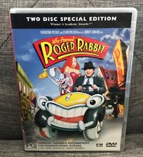 Who Framed Roger Rabbit DVD 2 Disc Special Ed Pal Discs Near Mint FAST FREE POST