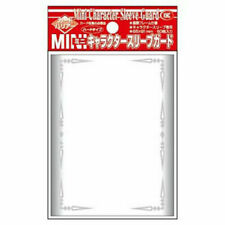 Akashiya Barrier Mini Character Guard Card Sleeves (60 Piece), (65 x 91 mm) - Clear
