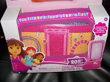 Nickelodeon Dora and Friends 20pc 3D Puzzle, Storage Bag, 3 Bath Crayons NEW