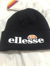 Black Ellesse Beanie Beani Hat Cap mens Boys unisex Girls ladies brand new