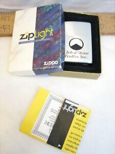 Zippo Ziplight Pockety Flashlight Global Stone PenRoc Employee Award w/Box