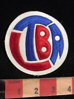 Borderless Unknown Brand LTBA Red White & Blue Advertising Patch 83X3