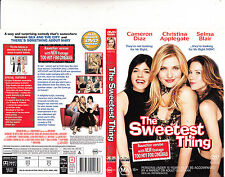 The Sweetest Thing-2002-Cameron Diaz-Movie-DVD