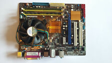 ASUS P5QPL-AM + Backplate - 3GB DDR2 - Genuine Intel Cooler - FREE UK Shipping