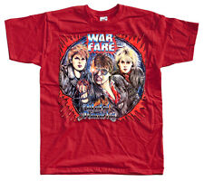 WARFARE Metal Anarchy   T SHIRT all sizes  Red