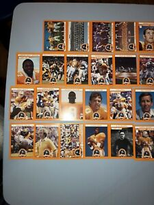 1990 Tennessee Centennial Lot of 41 Volunteers 40 Different Cards