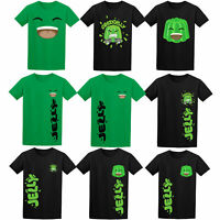 Jelly T-Shirt Youtuber Merch Viral Gaming Vloger Funny Kids T-shirt YS-YXl