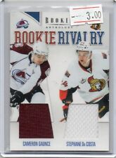2012 PANINI ANTHOLOGY HOCKEY CAMERON GAUNCE STEPHANE DA COSTA DUAL JERSEY RC