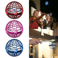 Hand Induction Flying Ball LED Light Mini Drone Toy Gift Anti-Collision