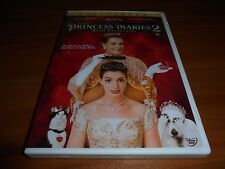 The Princess Diaries 2: Royal Engagement (DVD, 2004, Widescreen)  Disney Used