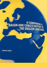 A Companion to Baugh and Cable's A History of the English Language-ExLibrary