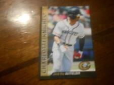 2017 CHARLOTTE KNIGHTS Single Cards YOU PICK FROM LIST $1 to $3 each OBO