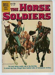 2 John Wayne comics: Circus World  & Horse Soldiers #1048  6.5 F/VF