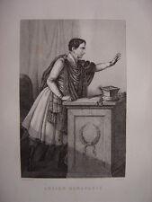 Gravure de Lucien BONAPARTE  Né à Ajaccio