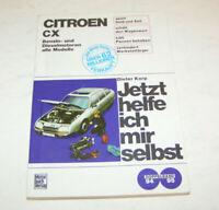 Originales Handbuch Citroen CX -  alle Modelle 1974 bis 1991