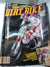 Dirt Bike Magazine APRIL1991 YZWR 200 500 250cc SHOOTOUT VINTAGE MOTOCROSS VMX