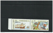 O 1992 Colombia, America Upaep, Christopher Columbus,Carabelas-Craft, V Centenni