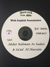 Al Quran Audio CD for cars With English Translation-