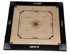 Brand New KDM  Carrom (Carom) Board Comes With Coins and Striker Full Size 89cm