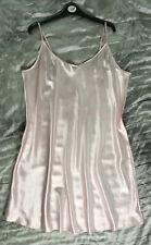 Plus Size Pink Satin Chemise Nightdress sizes 16 20 24 26 28 32