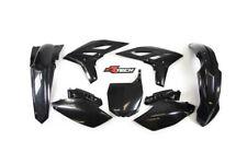 Racetech plastic kit. BLACK YAMAHA YZF 250 . 2010 - 2013