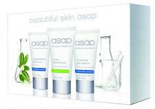 ASAP Beautiful Skin Pack Authentic Starter Travel Pack Scrub Cleanse Moisturise