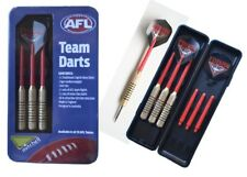 AFL Essendon Set of 3 Traditional English Brass Dart Board Darts NEW 2018