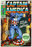 CAPTAIN AMERICA #125 F, Marvel Comics 1970