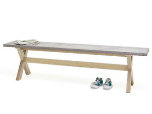 Loaf Conker Kitchen  2 Budges / 2 benches  220cm extra large £490 each bench