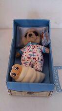 Confrontare il suricato mercato Da Collezione Giocattolo Morbido Baby OLEG NUOVO IN SCATOLA