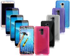 Cover e custodie neri modello Per Huawei Honor 7 in silicone/gel/gomma per cellulari e palmari