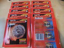 PANINI CALCIO 2001 10 zakjes packets istituti BUSTINA POCHETTES sobres