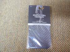 Women's Simply Vera Vera Wang Brick Sheer Control-Top Tights Size 1 Black NWT